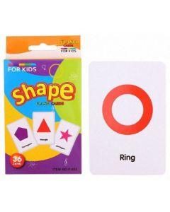Kids Flash Cards Shapes
