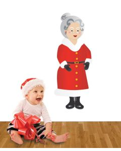 Mrs Claus Multi Coloured Giant Character Pack