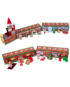 Elf on the Shelf North Pole Advent Train