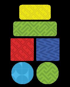 Patterns Kids Name Labels