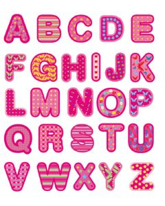 Pink - Alphabet