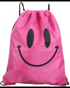 Pink Smiley Waterproof Swim and Backpack Sport Bag
