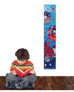 Pirates Multi Coloured Growth Chart Pack