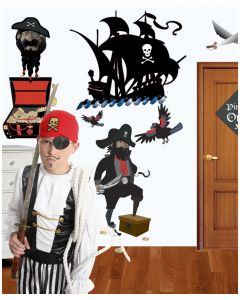 Pirates Of The High Seas Wall Stickers Pack