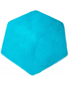 Plush Tent Floor Rug for Kids Playhouse Play