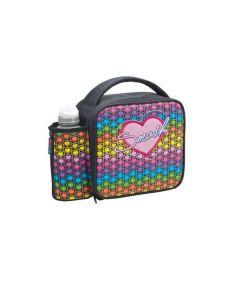 Rainbow Hearts JNR Case & Bottle Rainbow Hearts