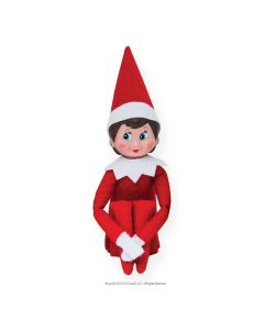 Elf on the Shelf Red Girl Light Skin Blue Eyes