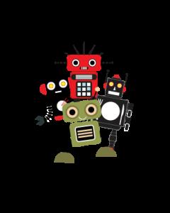 Robots Clothing Labels