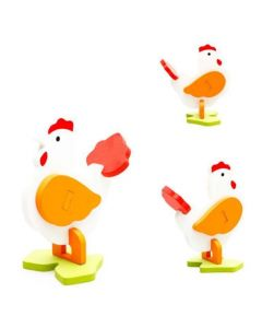Kids 3D Jigsaw Puzzle - Rooster