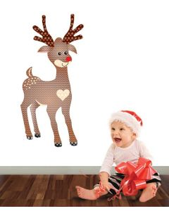 Rudolph Pattern Multi Giant Character Pack