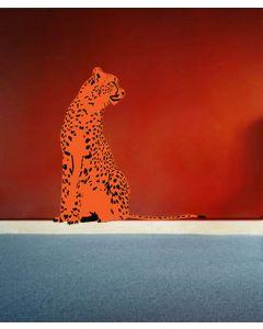 Safari Cheetah Black Orange Look Right Giant Character Pack