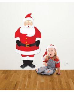 Santa Multi Coloured Giant Character Pack