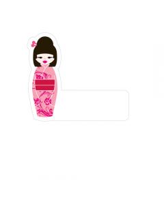 Shape Clothing Labels - Geisha