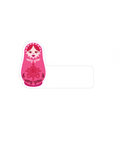 Shape Clothing Labels - Russian Doll