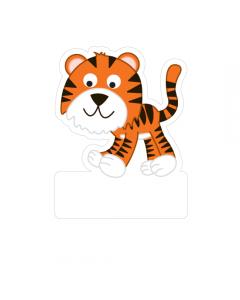 Shape Clothing Labels - Tiger