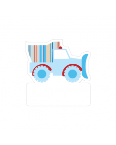 Shape Clothing Labels - Truck