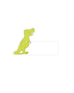 Shape Clothing Labels - T-Rex