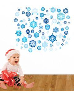 Snowflakes Wall Sticker Packs