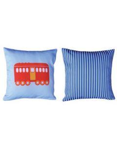 Themed Cushion - Steam Train & Carriages - Carriage 2
