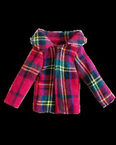 Christmas Cousin Tartan Overcoat