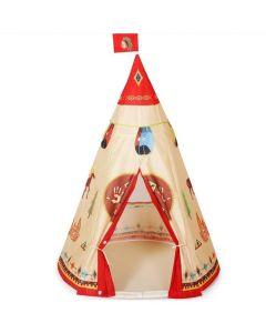 Indoor Outdoor Kids Tee Pee Play Tent