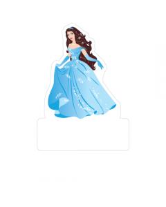 Shape Clothing Labels - Blue Princess