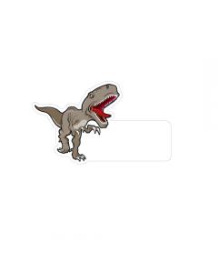 Shape Clothing Labels - Raptor