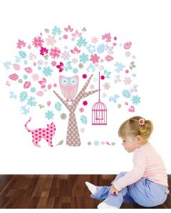 The Owl and Pussycat Wall Stickers Small Packs