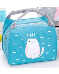 Thermal Bento Cooler Heat Bags Cat