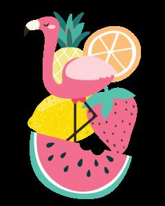 Tutti Fruitti Designed Ready To Go Name Labels