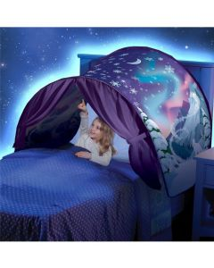 Winter Wonderland Foldable Sky Tent Indoor Bed Net