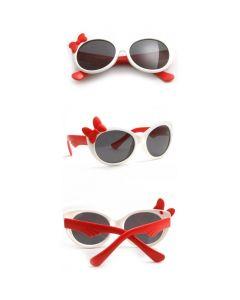 White Kids Polarized Sunglasses TR90 Frame UV400 Cute Cool Eyewear