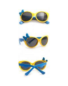 Yellow Kids Polarized Sunglasses TR90 Frame UV400 Cute Cool Eyewear
