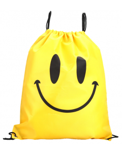 Yellow Smiley Waterproof Swim and Backpack Sport Bag