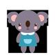 Standing Koala