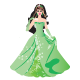 Princess - Green