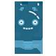 Blue Bulb Robot