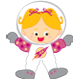 Space - Astronaut Girl