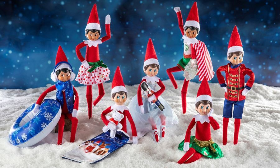 Christmas Adventure Ideas with your elf on a shelf