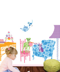 HIGH TEA: DELIGHTFUL KIDS WALL STICKERS TO BE ENJOYED WITH FRIENDS