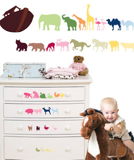 NOAH'S ARK: CHECK OUT THIS BEAUTIFUL WALL DECORATION. AVAILABLE IN A RAINBOW OF COLOURS.