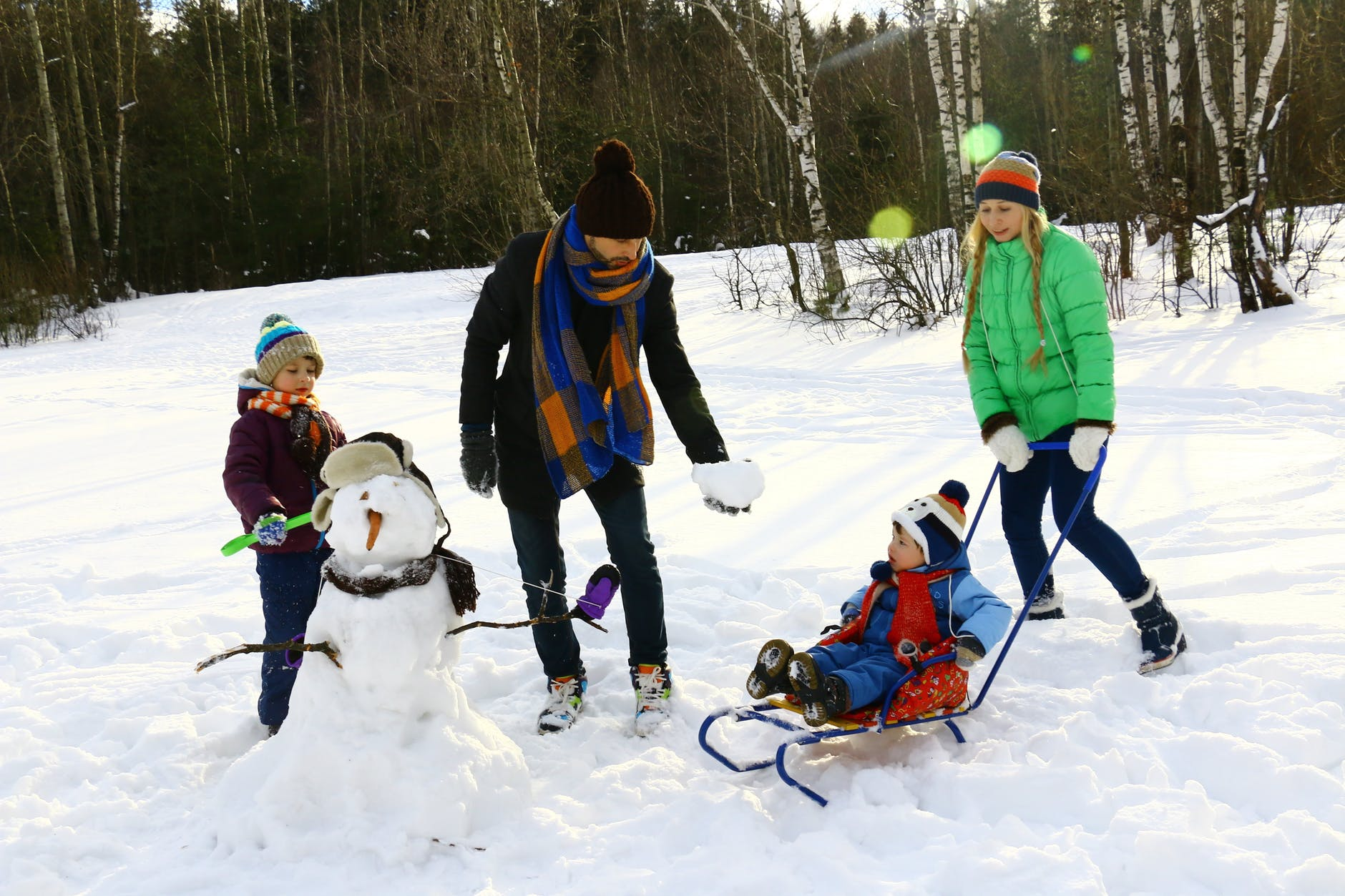 WINTER WEEKENDS AND SCHOOL HOLIDAYS: COLD TEMPERATURES CAN BE A CHALLENGE